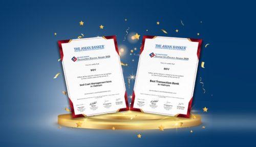 BIDV được vinh danh với 2 giải thưởng lớn - 1