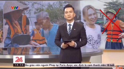 """Huấn """"Hoa Hồng"""" bị triệu tập vì giả mạo bản tin Chuyển động 24h của VTV - Ảnh 1."""