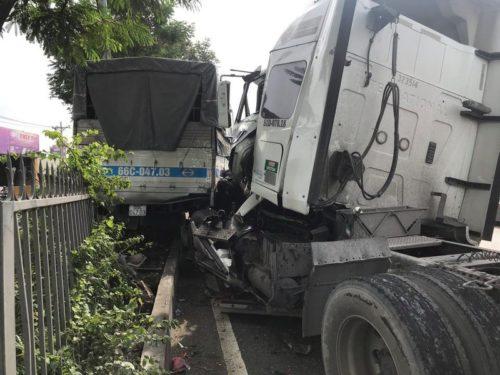 Tài xế dừng xe đi vệ sinh gây ra vụ tai nạn nghiêm trọng - ảnh 1