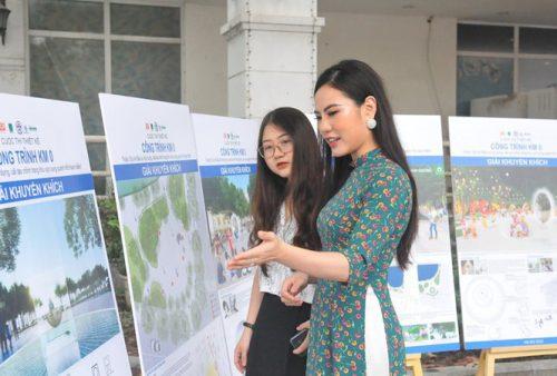 Hà Nội lấy ý kiến người dân về các phương án đặt cột mốc số 0 bên bờ hồ Gươm - Ảnh 1.