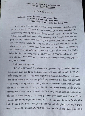 """Sau Sài Gòn FC, Than Quảng Ninh cũng """"tan đàn xẻ nghé"""" - Ảnh 2."""