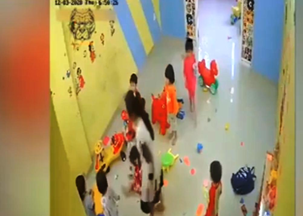 Nha Trang: Cô giáo đánh học sinh mầm non gây xôn xao dư luận - Ảnh 1.