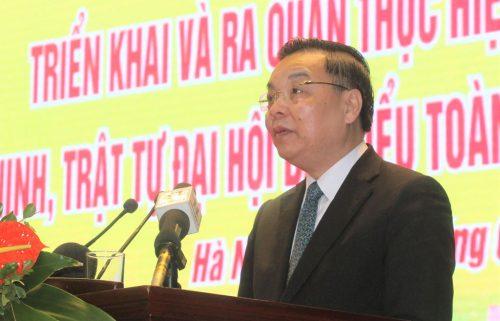 Bộ Công an yêu cầu Công an TP Hà Nội bảo vệ tuyệt đối an ninh Đại hội lần thứ XIII - Ảnh 3.