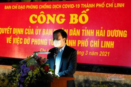 Hải Dương công bố dỡ phong tỏa TP. Chí Linh