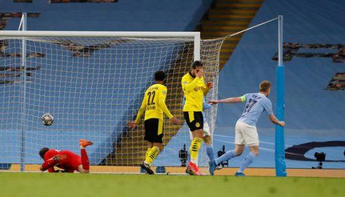 Man City thắng nghẹt thở Dortmund tại Etihad - Ảnh 1.
