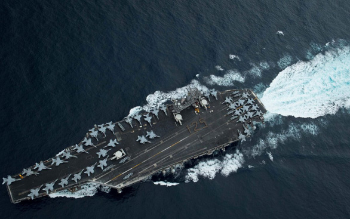 Mỹ và Trung Quốc cùng điều tàu chiến vào Biển Đông, Biển Hoa Đông - Ảnh 1.
