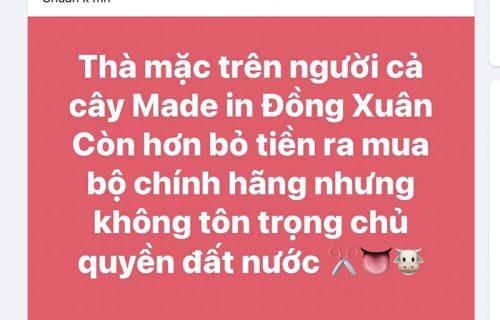 Người tiêu dùng Việt đồng loạt kêu gọi tẩy chay H&M