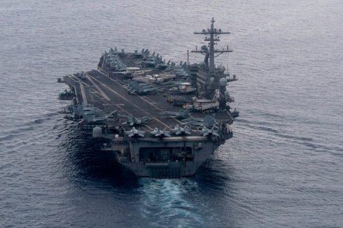 Nhóm tàu sân bay Mỹ tiến vào Biển Đông