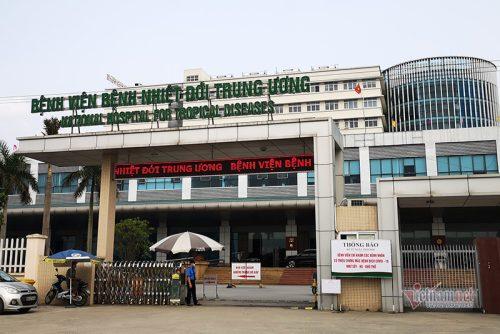 BV Bệnh nhiệt đới TƯ tạm dừng tiếp nhận bệnh nhân, xét nghiệm toàn bộ người trong viện