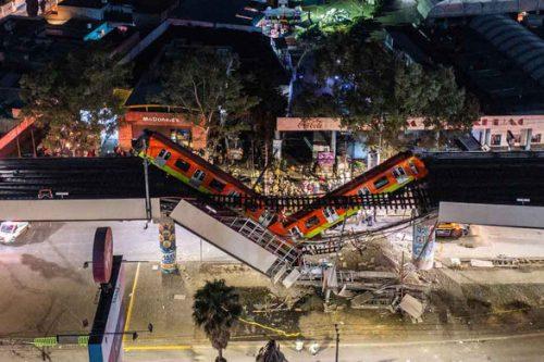 Sập metro ở Mexico lộ ra nhiều vấn đề - Ảnh 1.