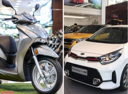 Có 400 triệu, mua ô tô hạng A hay xe máy Honda SH 350i đang hot?