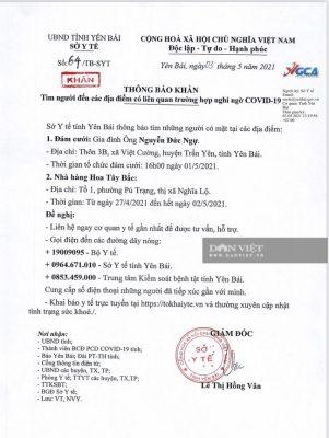 Yên Bái: Phong tỏa một khu dân cư tại huyện Trấn Yên do liên quan đến trường hợp dương tính với Covid-19 - Ảnh 3.