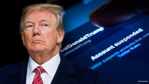 Tiếp tục bị khóa tài khoản, ông Trump nói Facebook, Twitter và Google phải trả giá - Ảnh 1.