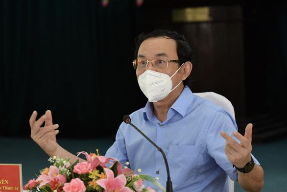Bí thư Nguyễn Văn Nên: Nhiều khả năng thu hẹp khu vực giãn cách theo chỉ thị 16 - Ảnh 1.